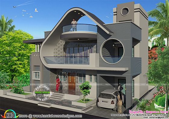 Ultra modern house architecture