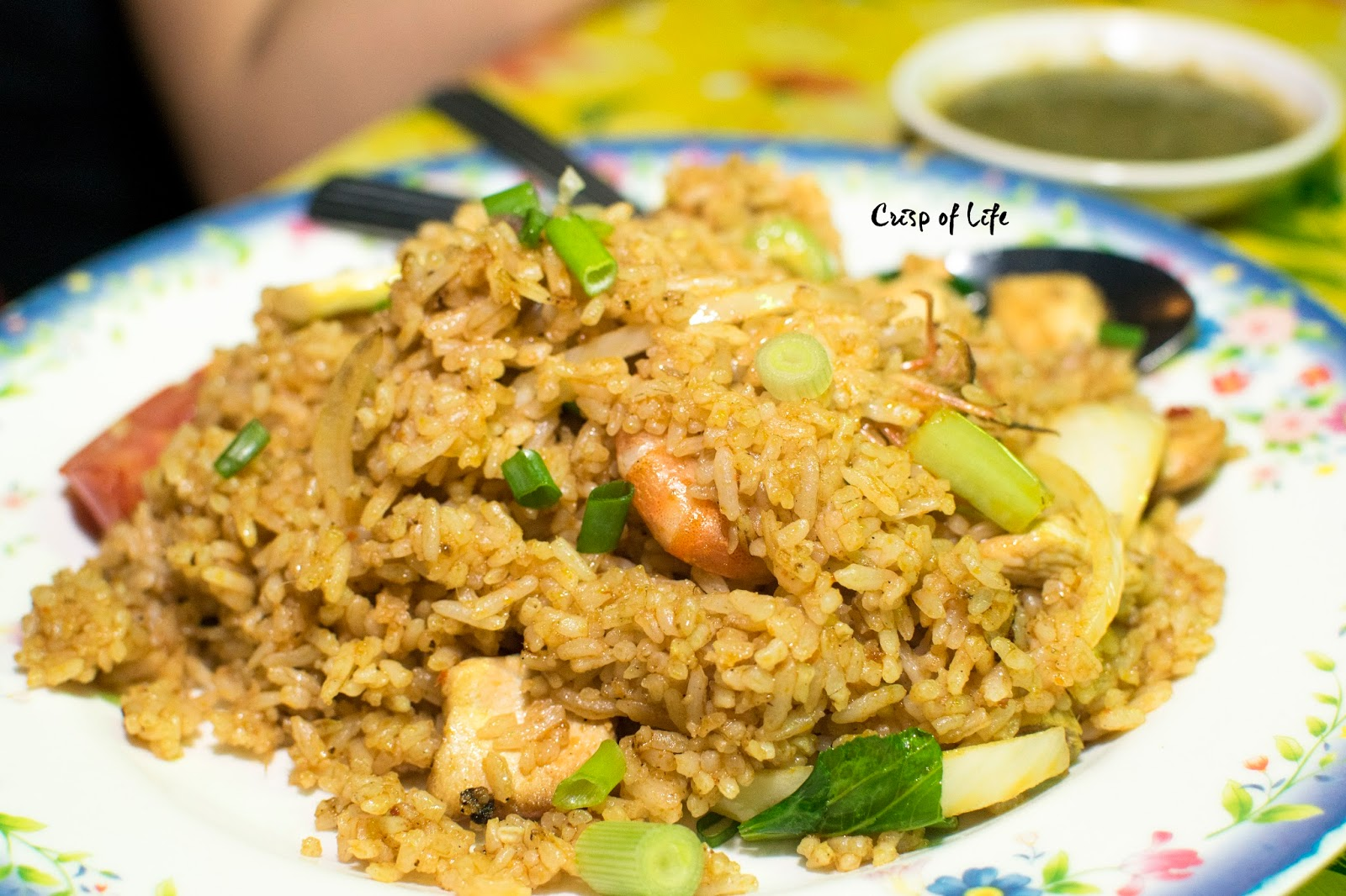 Maggi Goreng and Malay Dishes fried rice Sungai Ara Penang