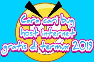 Bug internet gratis termuz