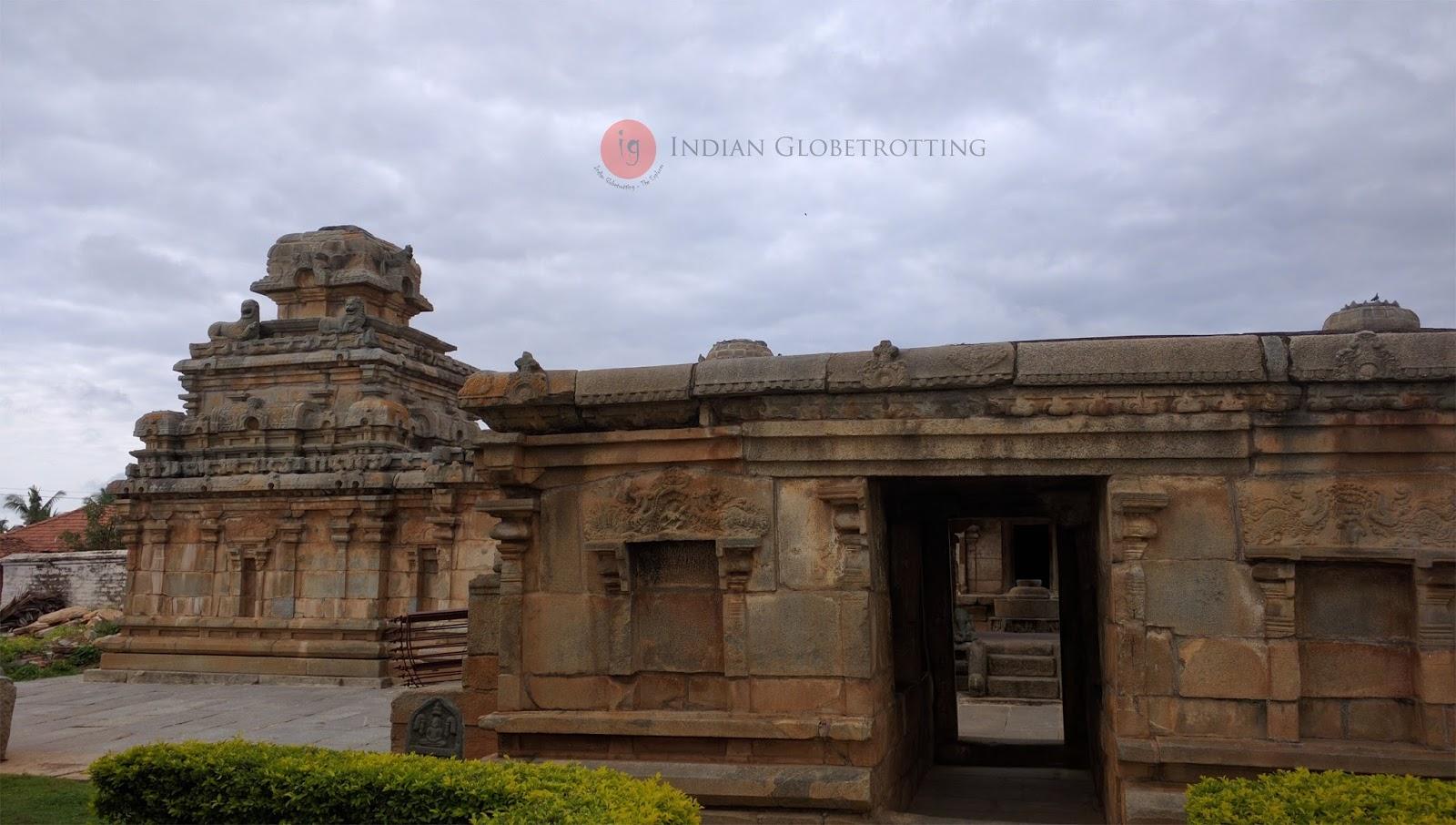 Panchakuta Basadi jain temple in Kambadahalli karnataka