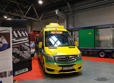 Mercedes-Benz Sprinter CNG, CUBY City Line, PKM Tychy