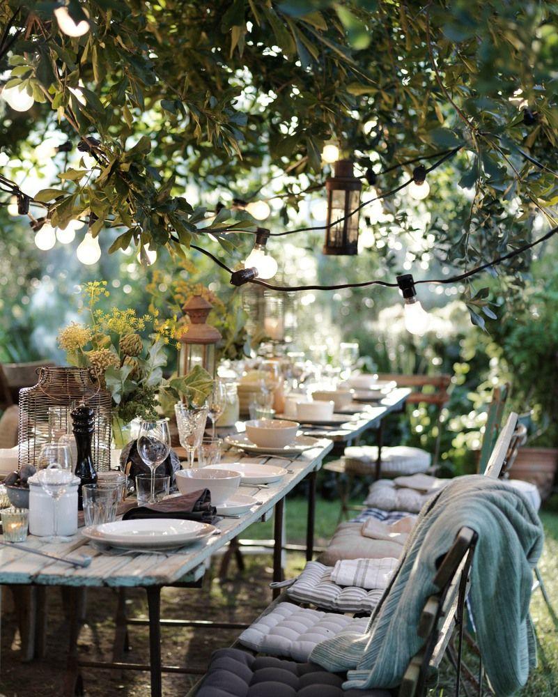 Farm To Table Restaurants With Gardens Gallery: M'illumino D'immenso: Dove Trovare Luci, Lucine E