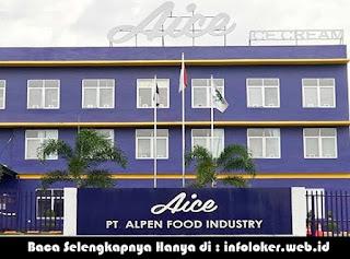 Lowongan Kerja PT Alpen Food Industry (AICE) MM2100 Cikarang 2019