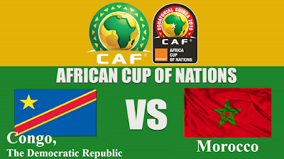 Congo, The Democratic Republic  VS Morocco African Nations Cup 2017 Gabon Monday 16 Jan 2017 football games