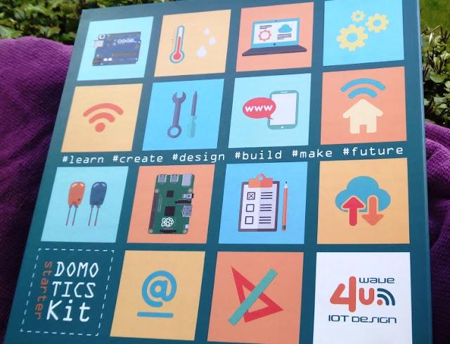 Domotics Iot Starter Kit For Arduino, Raspberry Pi Too Udoo Microcomputers!