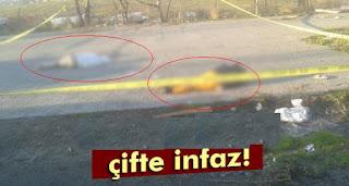 istanbul eyüpte  çifte infaz