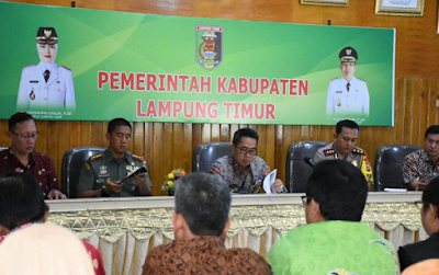Zaiful Bokhari Pimpin Rakor Antisipasi Gangguan Ketentraman dan Ketertiban Masyarakat