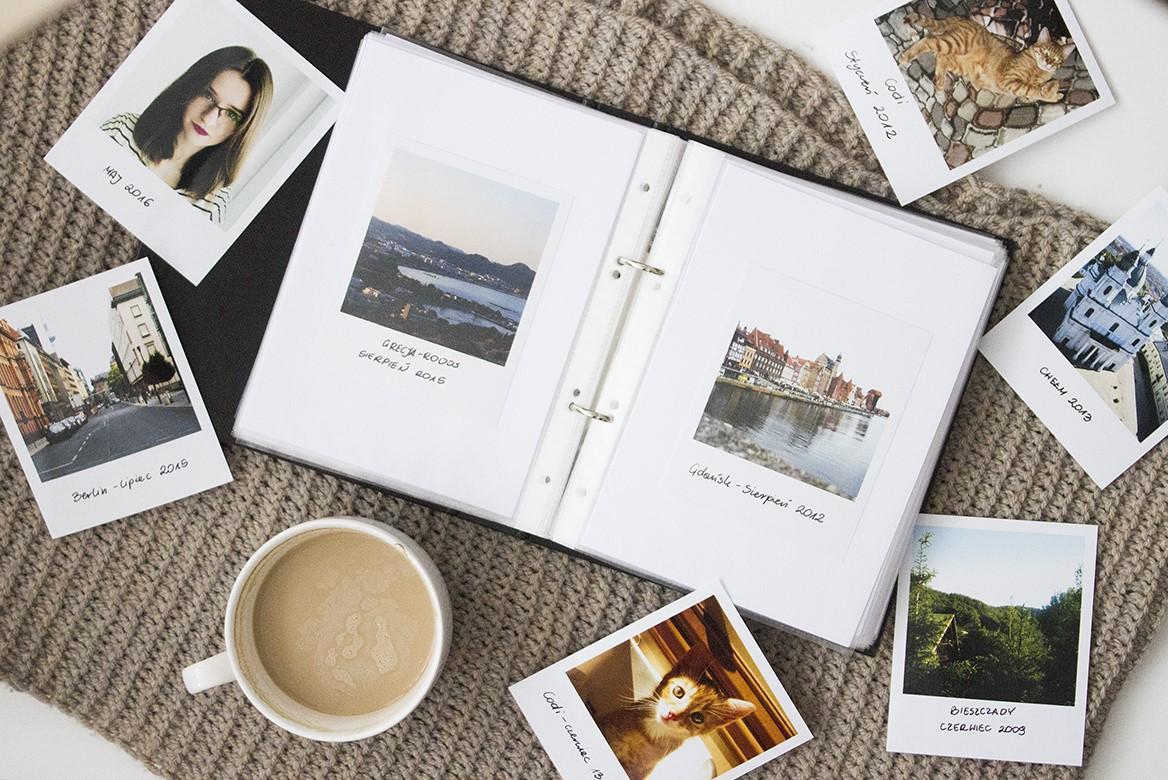zdjęcia, album, album na zdjęcia, diy album na zdjęcia, segregator, wylegarniapomyslow