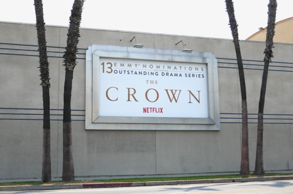 Crown 2018 Emmy nominee billboard