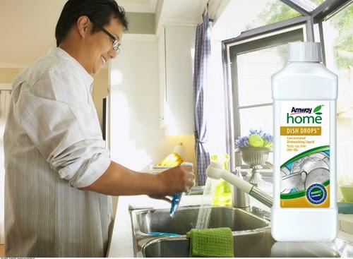 Nước rửa chén Dish Drops có công thức đậm đặc