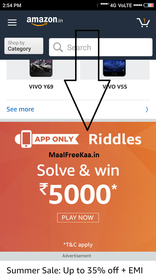 Amazon Riddles Solve & Win Rs 5000 (Answer Added) - Freebie Giveaway