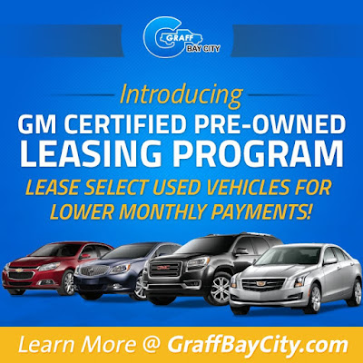 GM Certified Pre-Owned Leasing Program with Hank Graff Chevrolet in Bay City, MI