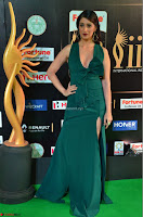 Laxmi Rai in a Deep neck Beautiful Green Gown Cute Actress Laxmi Rai ~  002.JPG
