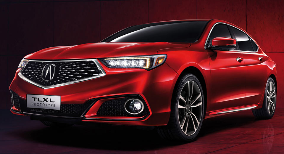Acura TLX Presented Having Long-Wheelbase Prototype; Many Are Fans