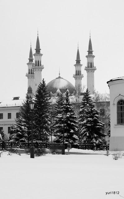 Татарская мечеть Кул Шариф.
