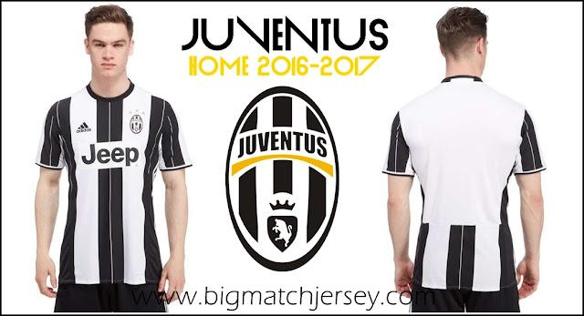 Adidas Juventus 2016-2017 Home Shirt