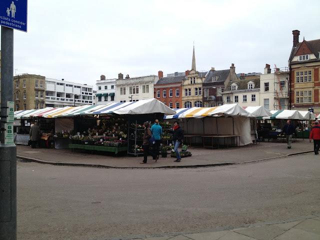 A market square