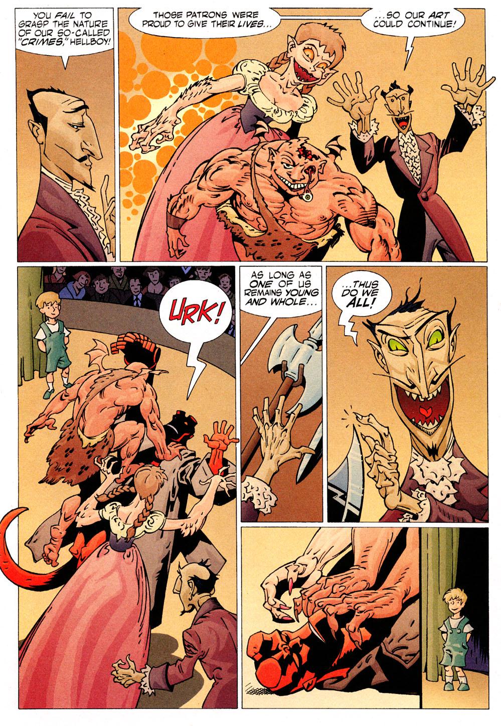 Read online Hellboy: Weird Tales comic -  Issue #6 - 7