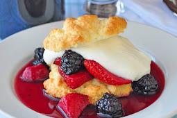 The Crazy Drunken Berry Shortcakes Recipe