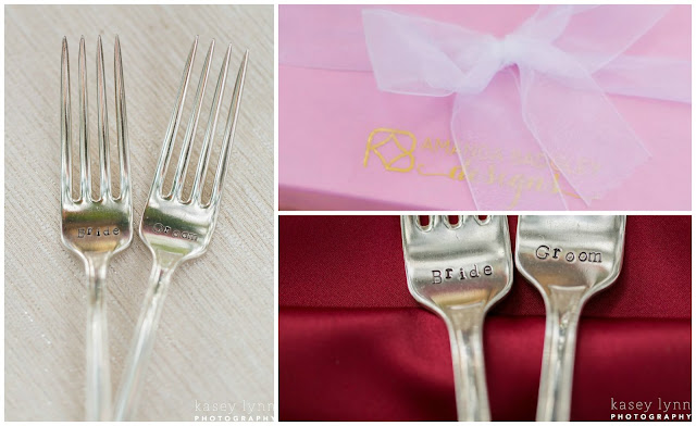 Bride and Groom Forks _Kasey Lynn Photography_River Oaks Weddings