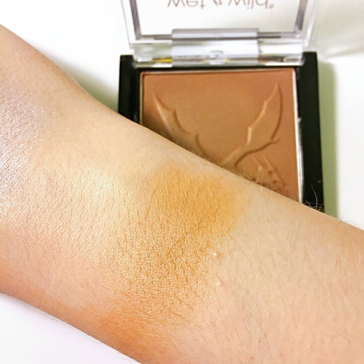 wet n wild color icon Bronzer You're Dragon Me Down swatch