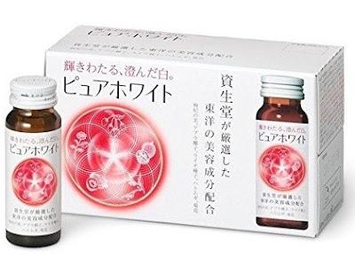 Nước làm trắng da collagen Shiseido Pure white mới của Shiseido