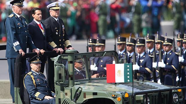 México conmemora el 206 aniversario de la Independencia con un espectacular desfile militar