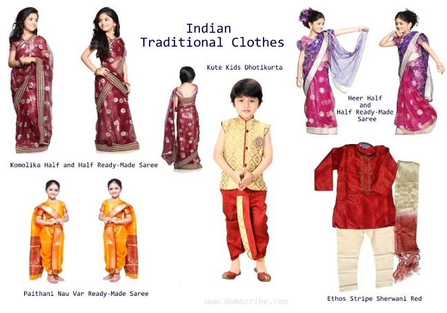 Indian Traditional Clothes for Kids
