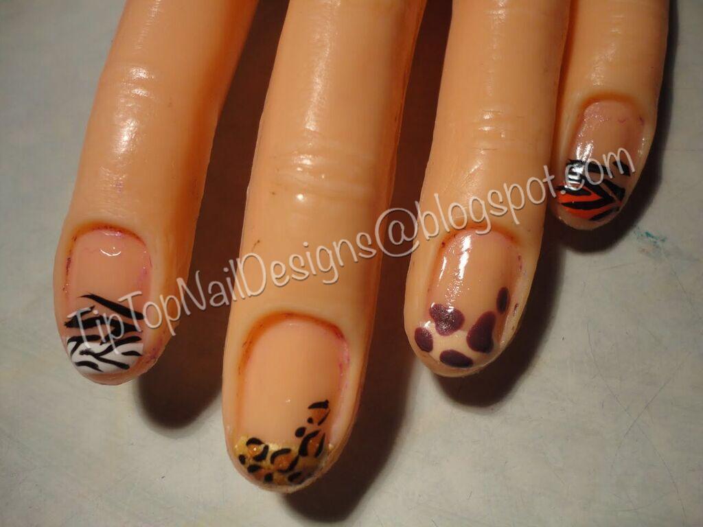 Tip Top Nail Designs: Wild Safari