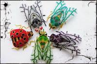 Мастер-класс плетения муха из бисера объемная