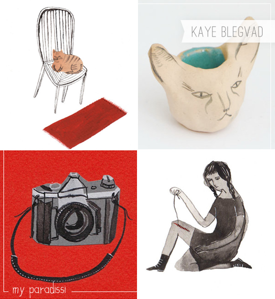 Kaye Blegvad Illustrations