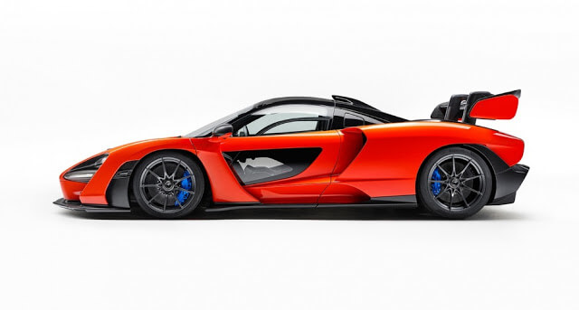McLaren Senna Top Speed