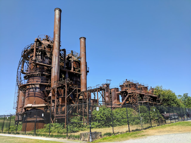 Seattle's Fremont Neighborhood: Gas Works Park