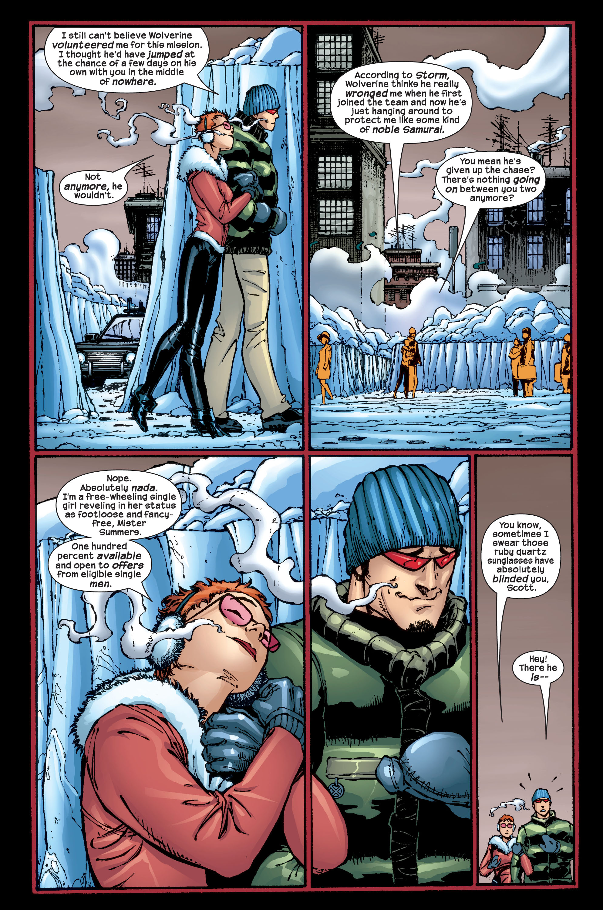 Read online Ultimate X-Men comic -  Issue #17 - 20