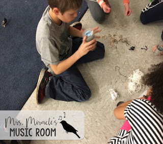 Making instruments with household items, and more ideas for your music class!