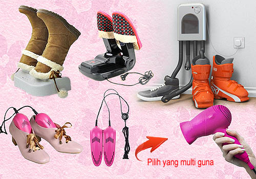 Cara menyimpan sepatu setelah dikeringkan