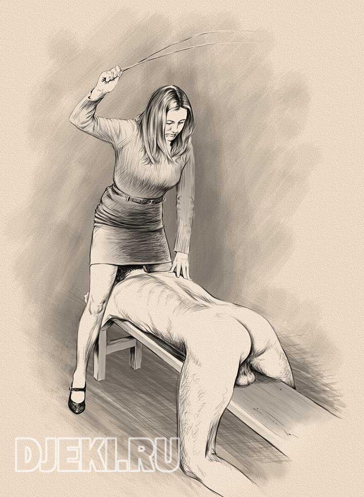 force-aroused-bride-spank-art-eroic