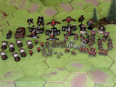 And, finally, a shot of the entire Aotrs ground force!