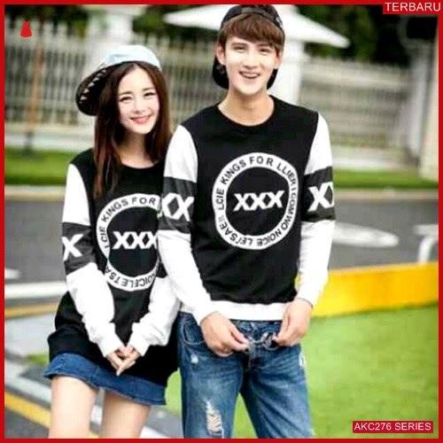 AKC276S47 Sweater Couple Triple Anak 276S47 Pasangan X BMGShop
