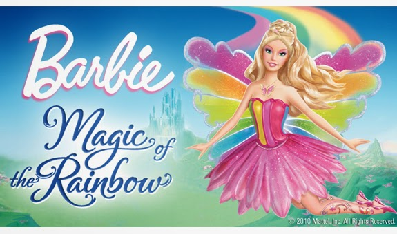 Mewarnai Barbie Magic Of The Rainbow
