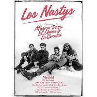 Concierto de Los Nastys y Bronquio en The Secret Social Club