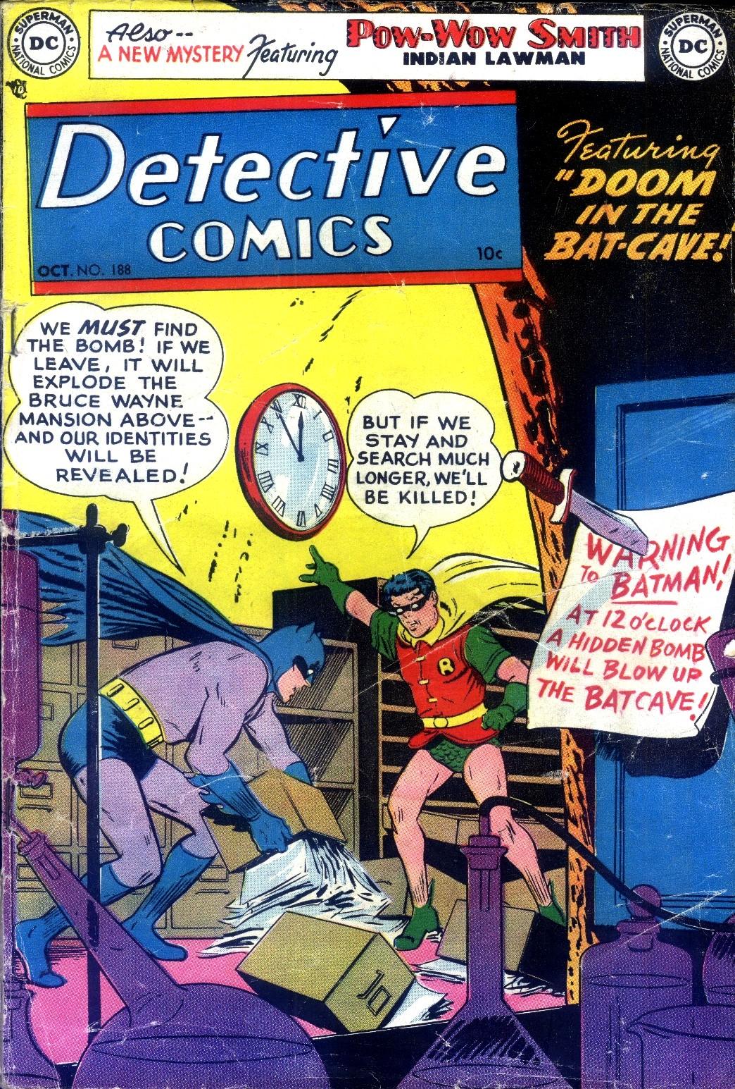 Read online Detective Comics (1937) comic -  Issue #188 - 1