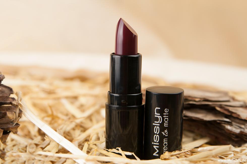 Misslyn - cream to matte long-lasting lipstick
