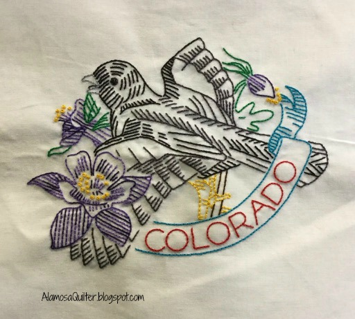 Alamosa Quilter Hand Embroidery