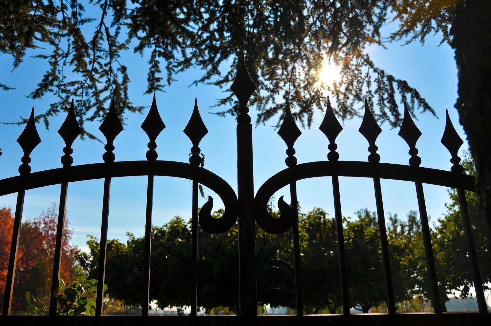 The front fence, Agriturismo La Borina, Veneto, Italy