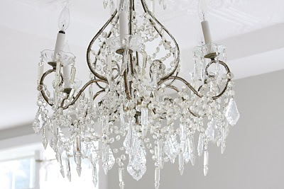 1 The Classic This Is Probably What Comes To Mind When You Hear Word Chandelier Covered In Crystals And Over Top Pretty