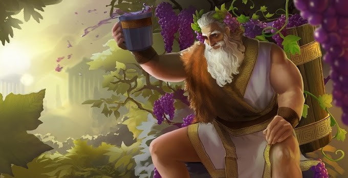 Dionísio (Baco) - Deus Grego do Vinho e da Colheita da Uva
