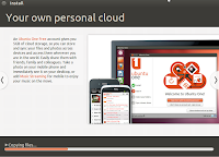 Ubuntu one personal cloud storage.