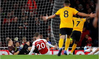 arsenal v wolverhampton wanderers highlights