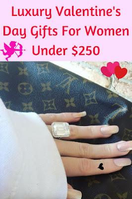 luxury gifts for Valentine's Day under $250. #savingmoney #luxurygifts #valentinesdaygiftsforwomen #expensivegifts #affordablegifts